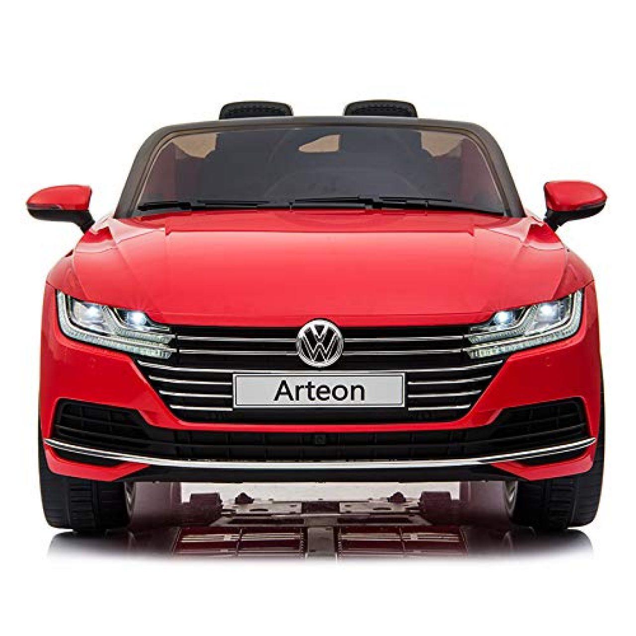 f5865da44 cristom – Coche eléctrico 12 V para niños – License Volkswagen Arteon