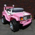 Hummer Style 12V 2P ROSA CON RADIO FM CON RC