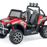JEEP POLARIS RANGER 24V 2 PLAZAS ROJO