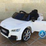 AUDI TT RS 12V WHITE 2.4G 12V