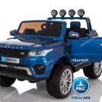 Jeep 12V 4X4 MP4 2.4G Azul Metalizado