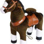 Ponycycle Uso Profesional Caballo Marrón con Chocolate Pequeño