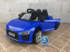 AUDI LITLE R8 SPYDER BLUE