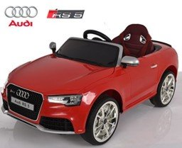 Audi RS5 de Babycoches,Licencia Oficial, 12 V rojo