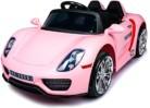 Coche eléctrico para niños 918 Spyder 12V, Color Rosa
