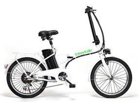 Bicicleta ELECTRICA Plegable Mod. Book BATERIA Ion Litio 36V 10AH