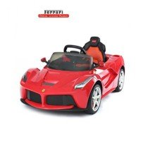 Big Kids Cars Coche Eléctrico Ferrari LaFerrari Rojo
