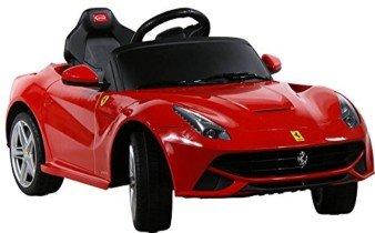 Coche Electrico para Niños – Ferrari F12 Berlinetta – Rojo