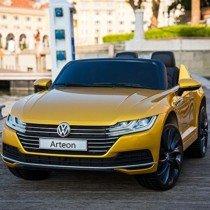 Bseion Vehículo eléctrico para niños Volkswagen Coche de Juguete