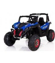 CARS12V Coche ELÉCTRICO para NIÑOS RSX Buggy 24V 2 PLAZAS RC (Azul)