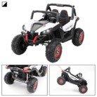 CARS12V Coche Eléctrico para Niños RSX Buggy 24V 2 Plazas RC (Blanco)