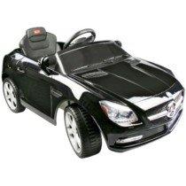 Coche Eléctrico Bateria 6V con Mando Control Remoto Mercedes Benz 81200 Color Negro