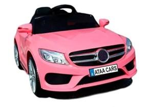 Coche eléctrico niños 12v con mando estilo mercedes SL Roadster – Rosa