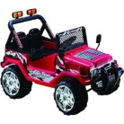 Jeep 4×4 Wrangler Dos plazas 12v – Rojo