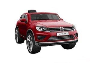 Coche Electrico para Niños Volkswagen Touareg – Rojo Metálico