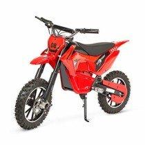 ECOXTREM Mini Moto Cross eléctrica para niños, Color Rojo 24V