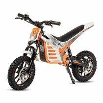 ECOXTREM Moto Cross eléctrica Infantil, Color Naranja