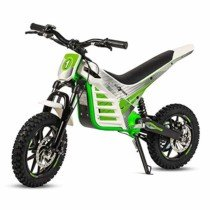 ECOXTREM Moto Cross eléctrica Infantil, Color Verde