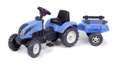 Falk 2050C Landini Powermondial 110 – Tractor a pedales con remolque