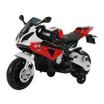 Homcom Coche Correpasillos Niños 3-8 años Moto Eléctrica Infantil