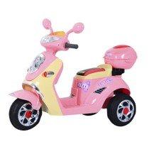 Homcom Coche Triciclo Moto Eléctrica Infantil Correpasillos a Batería