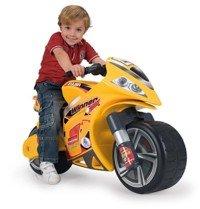 Hello Kitty Moto Correpasillos Winner, Color Amarillo