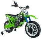 Moto de Cross Kawasaki a batería 6V