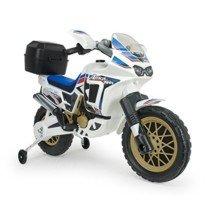 Moto Honda Africa Twin eléctrica 6V para niños