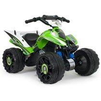 INJUSA – Quad Kawasaki ATV, Estable y Resistente de batería 12V
