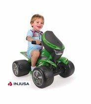 INJUSA – Quad Wrestler para niños Desde 1 a 3 años, batería 6V, Verde