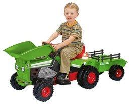 INJUSA – Tractor Dump Trac con volquete y remolque
