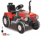 Jamara 460319-Ride-on Tractor Power Drag 12V Sistema con Clave