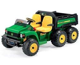 Jhon Deere Gator HPX 6 x 4 Tractor eléctrico 2 plazas 24 Volt Idea regalo