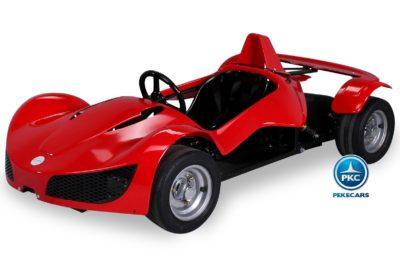 Kinder Elektro MGT Rennwagen Rojo