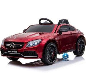 Mercedes C63 12V 2.4G Rojo Metalizado