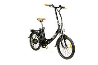 Moma Bikes Bicicleta Electrica, Urbana EBIKE-20 «