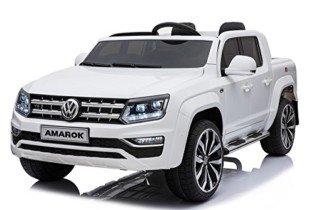 Mondial Toys Coche Eléctrico para Niños Baterías 12 V Motor Volkswagen Amarok 4 x 4