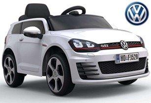 """coche eléctrico """"Volkswagen Golf GTI 7"""" – licencia – 12V7AH batería"""