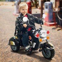 Cohete Mini Harley Niño Salvaje Correpasillos Motocicleta Eléctrico