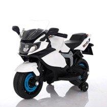 Moto Racer ATAA eléctrica batería 6v – Blanco