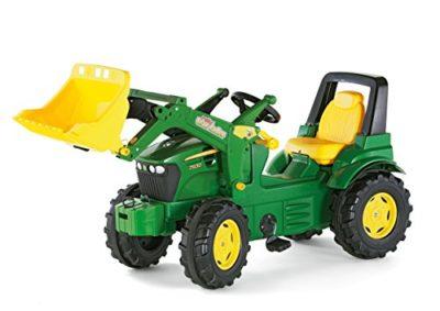 John Deere – Tractor miniatura con pala frontal