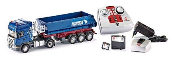 SIKU 6725 – Descarga de camiones Scania Set con módulo de control remoto