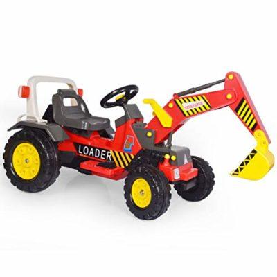 ZN-car model toy Coche de Juguete eléctrico para niños, Excavadora/niveladora eléctrica