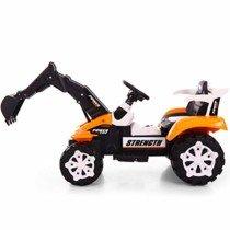 ZN-car model toy Operación de Pedales para niños Mini Excavadora Amarilla